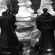 Checkmate Print by Jennifer Sabir