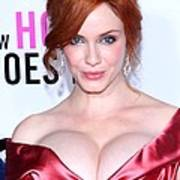 Christina Hendricks At Arrivals For I Print by Everett