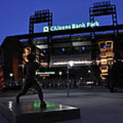 Citizens Bank Park Print by Andrew Dinh