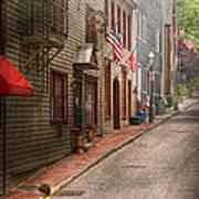 City - Rhode Island - Newport - Journey  Print by Mike Savad