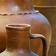 Clay Pottery Print by Carlos Caetano