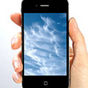 Cloud Computing Print by Photo Researchers
