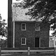 Clover Hill Tavern Guesthouse Bw Print by Teresa Mucha