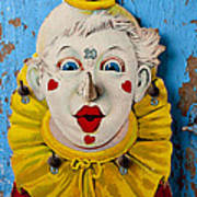 Clown Toy Game Print by Garry Gay