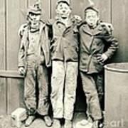 Coal Breaker Boys 1900 Print by Padre Art