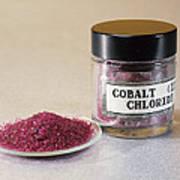 Cobalt Chloride Print by Andrew Lambert Photography