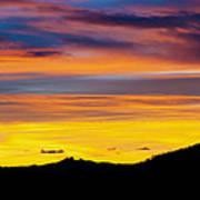 Colorado Sunrise -vertical Print by Beth Riser