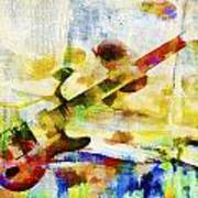 Colorful Music Print by David Ridley