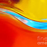 Colorful Wave Print by Carlos Caetano