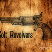 Colt Revolvers Print by Cheryl Young