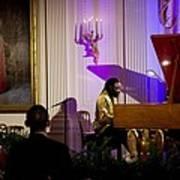 Concert Pianist Awadagin Pratt Performs Print by Everett
