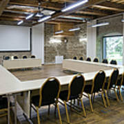 Conference Room Print by Jaak Nilson