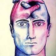Contralateral Stimuli Print by Paulo Zerbato