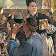 Corner Of A Cafe-concert Print by Edouard Manet