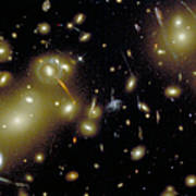Cosmic Magnifying Glass Print by STScI/NASA/Science Source