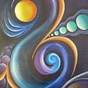 Cosmic  Print by Reina Cottier