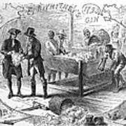 Cotton Gin, 1793 Print by Granger