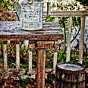 Country Porch Print by Kathy Jennings