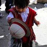 Cuenca Kids 164 Print by Al Bourassa