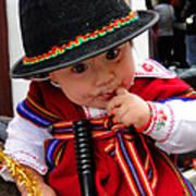 Cuenca Kids 19 Print by Al Bourassa