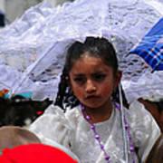 Cuenca Kids 51 Print by Al Bourassa