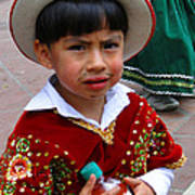 Cuenca Kids 54 Print by Al Bourassa
