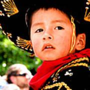 Cuenca Kids 64 Print by Al Bourassa
