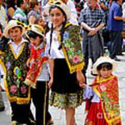 Cuenca Kids 80 Print by Al Bourassa