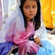 Cuenca Kids 96 Print by Al Bourassa