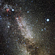 Cygnus And Lyra Constellations Print by Eckhard Slawik