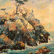 Cypress Tree Print by Carolyn Jarvis