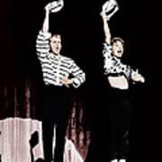Damn Yankees, From Left Bob Fosse, Gwen Print by Everett