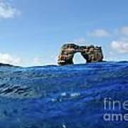 Darwin's Arch By Sea Level Print by Sami Sarkis