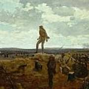 Defiance - Inviting A Shot Before Petersburg Print by Winslow Homer