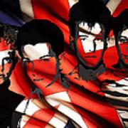 Depeche Mode 80s Heros Print by Stefan Kuhn