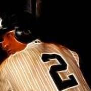 Derek Jeter II- New York Yankees - Baseball  Print by Lee Dos Santos