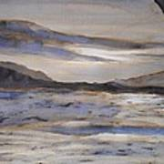 Desolate Print by Nicla Rossini