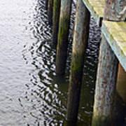Dock Of The Bay  Print by Pamela Patch