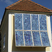 Domestic Solar Panel Print by Friedrich Saurer
