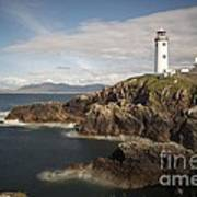 Donegal Lighthouse Print by Andrew  Michael