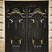 Doors Print by Elena Elisseeva
