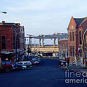 Downtown Eastport Maine Print by Geri Harkin-Tuckett