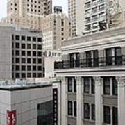 Downtown San Francisco Buildings - 5d19323 Print by Wingsdomain Art and Photography