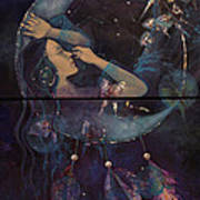 Dream Catcher Print by Dorina  Costras