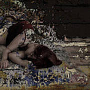 Dreams Amongst Driftwood Print by Adam Kissel