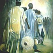 Drummers' Return Print by David Omotosho