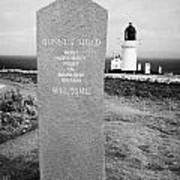 Dunnet Head Most Northerly Point Of Mainland Britain Scotland Uk Print by Joe Fox