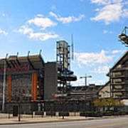 Eagles - The Linc Print by Bill Cannon