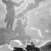 Early Sighting Of Brocken Spectres, 1797 Print by