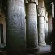 Egypt: Temple Of Hathor Print by Granger
